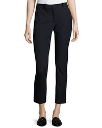 Joseph New Elliston Stretch Gabardine Skinny Ankle Pants