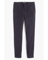 J.Crew Zip Ankle Stretch Skinny Cargo Pants