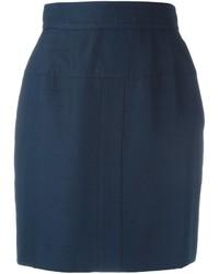 Chanel Vintage High Waist Mini Skirt