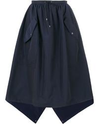 Kenzo Flap Pocket Full Skirt