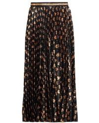 Gucci Heart Jacquard Midi Skirt