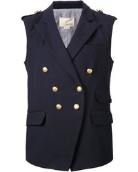 Band of outsiders sleeveless blazer medium 235141