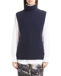 Dries Van Noten Sleeveless Turtleneck Sweater