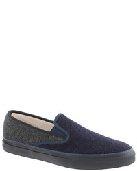 Navy slip on sneakers original 9744256