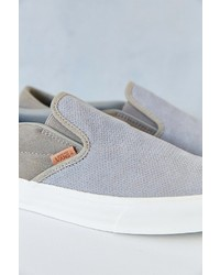 256660515f ... Vans Classic California Knit Suede Slip On Sneaker ...