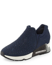 Ash Lifting Crystal Slip On Sneaker