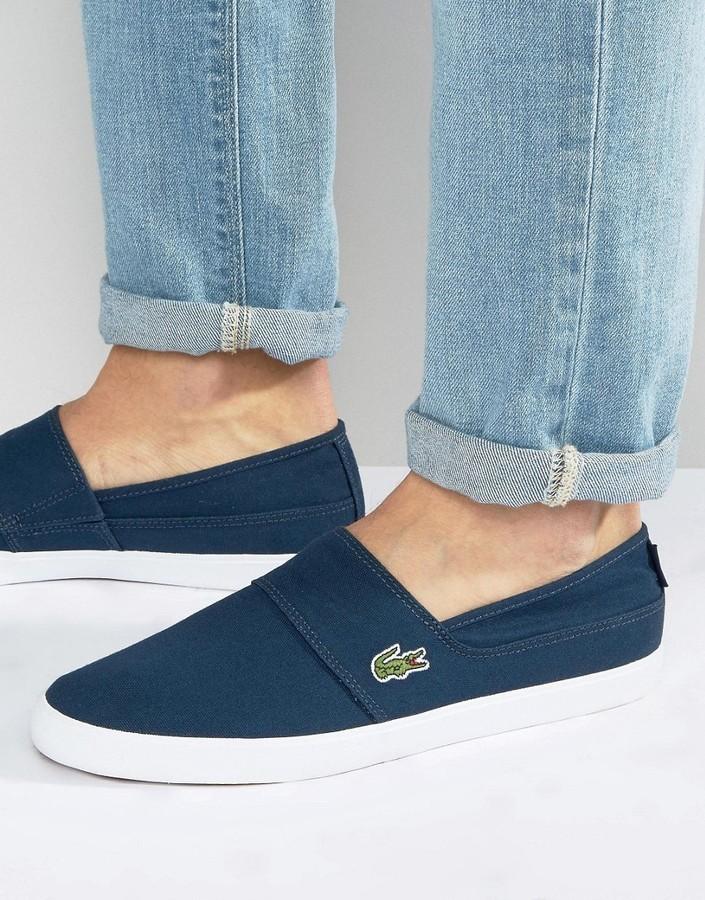 Lacoste Marice Slip On Sneakers, $72