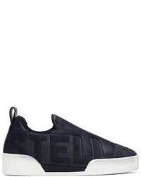 Stella McCartney Navy Stella Slip On Sneakers