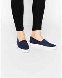 Vero Moda Perferated Slip On Sneaker
