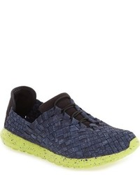 Victoria stretch woven slip on sneaker medium 784411