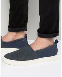 Ted Baker Zhangg Pattern Slip On Sneakers