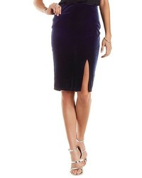 Charlotte russe velvet pencil skirt medium 451899