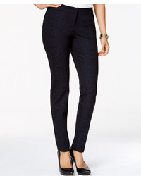 Snakeskin print skinny pants only at macys medium 371085