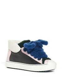 Fendi Fflynn Genuine Shearling Sneaker