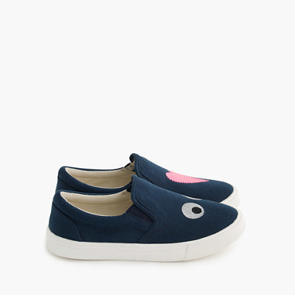 J.Crew Girls Max The Monster Slide Sneakers
