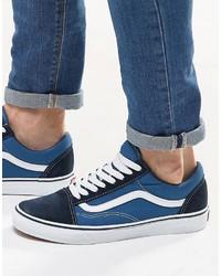 Vans Old Skool Sneakers In Blue Vd3hnvy