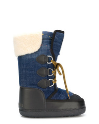 Dsquared2 Lace Up Moon Boots