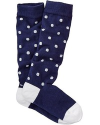 Navy Socks