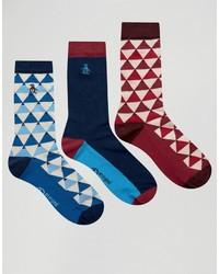 Original Penguin 3 Pack Socks
