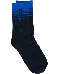 Diesel Logo Socks With A Ribbed Detail