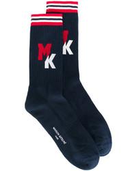 MAISON KITSUNÉ Maison Kitsun Logo Socks