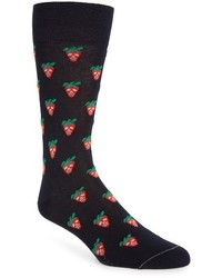 Mini strawberry crew socks medium 3685382