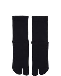 Maison Margiela Navy Gauge 12 Jersey Socks