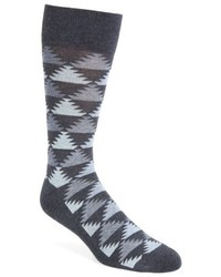 Nordstrom Shop Pyramid Motif Socks