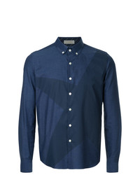 Education From Youngmachines Star Print Collared Shirt