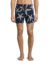 Vilebrequin Moorise Starlette Glow In The Dark Superflex Swim Trunks