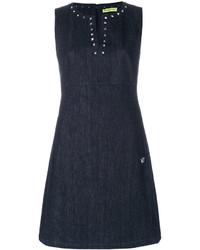 Versace Jeans Studded Collar Dress