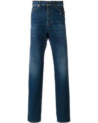 Saint Laurent Star Studded Straight Jeans