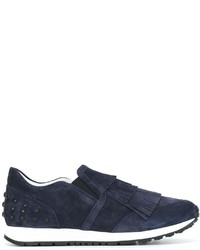 Tod's Studded Slip On Sneakers