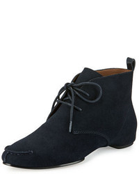 Donald J Pliner Brii Suede Lace Up Bootie