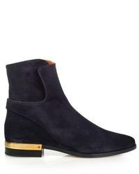 Chloé Chlo Drew Suede Ankle Boots