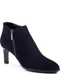 Aquatalia Dina Weatherproof Suede Ankle Boot