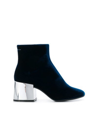 MM6 MAISON MARGIELA Metallic Heel Boots
