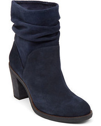 Vince Camuto Parka Suede Slouch Ankle Boots