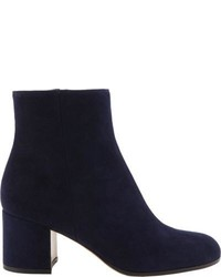 Gianvito Rossi Side Zip Ankle Boots