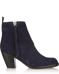 Acne Studios The Pistol Suede Ankle Boots
