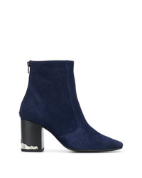 Toga Pulla Two Tone Ankle Boots