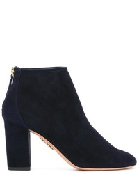 Aquazzura Zipped Ankle Boots