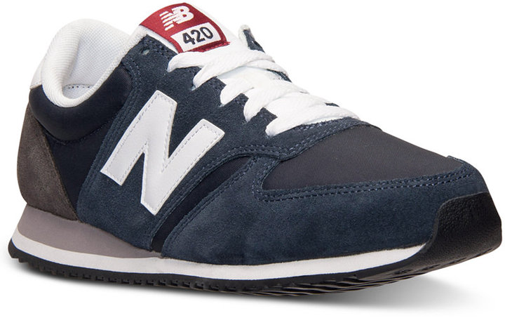 new balance u420 navy white