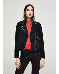 Suede biker jacket medium 5268585