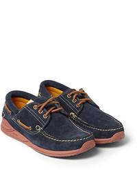 VISVIM Americana Suede Deck Shoes