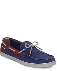 Cole Haan Lincoln Suede Boat Shoes