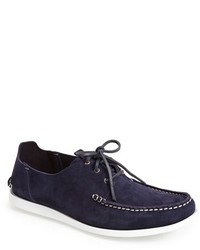 Paul Smith Dagama Suede Boat Shoe