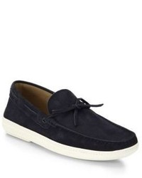 Tod's Marlin Suede Boat Shoes