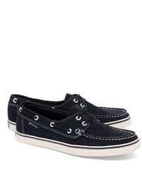 Brooks Brothers Superga Suede Boat Shoes