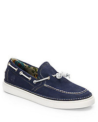 Vince Camuto Vc Cup Suede Boat Shoes
